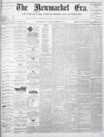 Newmarket Era (Newmarket, ON1861), September 10, 1869