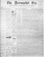Newmarket Era (Newmarket, ON1861), September 24, 1869