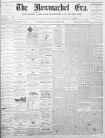 Newmarket Era (Newmarket, ON1861), October 8, 1869
