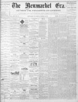 Newmarket Era (Newmarket, ON1861), October 22, 1869