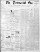 Newmarket Era (Newmarket, ON1861), November 5, 1869