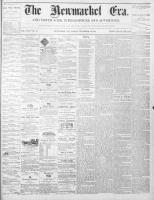 Newmarket Era (Newmarket, ON1861), November 12, 1869