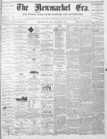 Newmarket Era (Newmarket, ON1861), November 19, 1869