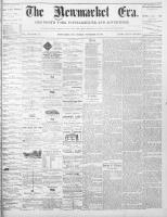 Newmarket Era (Newmarket, ON1861), November 26, 1869