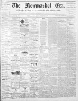 Newmarket Era (Newmarket, ON1861), December 3, 1869
