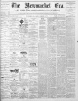 Newmarket Era (Newmarket, ON1861), December 10, 1869