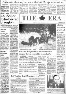 The Era (Newmarket, Ontario), Jan. 3, 1979