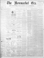 Newmarket Era (Newmarket, ON1861), January 7, 1870