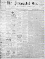 Newmarket Era (Newmarket, ON1861), January 14, 1870