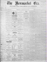 Newmarket Era (Newmarket, ON1861), January 21, 1870
