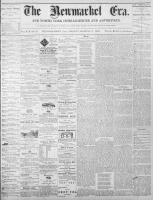 Newmarket Era (Newmarket, ON1861), March 11, 1870