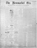Newmarket Era (Newmarket, ON1861), March 25, 1870