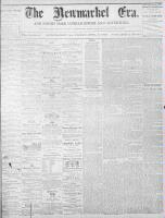 Newmarket Era (Newmarket, ON1861), April 8, 1870