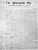 Newmarket Era (Newmarket, ON1861), April 15, 1870