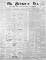 Newmarket Era (Newmarket, ON1861), April 22, 1870