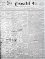 Newmarket Era (Newmarket, ON1861), April 29, 1870