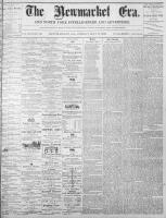 Newmarket Era (Newmarket, ON1861), May 6, 1870