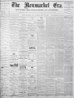Newmarket Era (Newmarket, ON1861), May 13, 1870