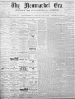 Newmarket Era (Newmarket, ON1861), June 10, 1870