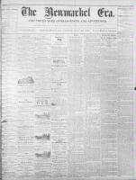 Newmarket Era (Newmarket, ON1861), July 15, 1870
