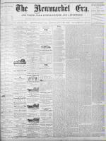 Newmarket Era (Newmarket, ON1861), July 29, 1870