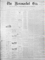 Newmarket Era (Newmarket, ON), August 5, 1870
