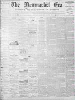 Newmarket Era (Newmarket, ON), August 12, 1870