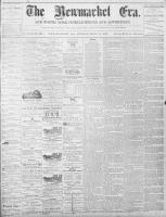 Newmarket Era (Newmarket, ON), September 9, 1870