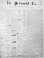 Newmarket Era (Newmarket, ON), September 16, 1870