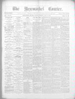 Newmarket Courier (Newmarket, ON), May 12, 1870