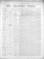 Newmarket Courier (Newmarket, ON), September 22, 1870