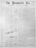 Newmarket Era (Newmarket, ON), March 3, 1871