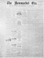 Newmarket Era (Newmarket, ON), March 10, 1871