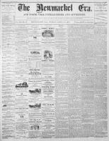 Newmarket Era (Newmarket, ON), April 14, 1871