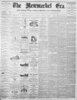 Newmarket Era (Newmarket, ON), April 21, 1871