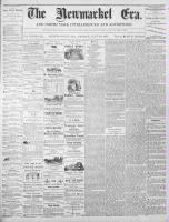 Newmarket Era (Newmarket, ON1861), July 21, 1871