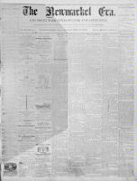 Newmarket Era (Newmarket, ON), February 16, 1872