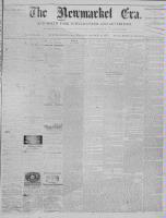 Newmarket Era (Newmarket, ON), March 8, 1872