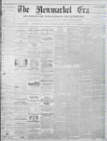 Newmarket Era (Newmarket, ON), May 17, 1872