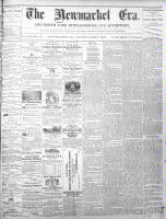 Newmarket Era (Newmarket, ON1861), June 7, 1872