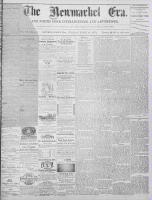 Newmarket Era (Newmarket, ON1861), June 14, 1872