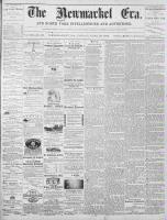 Newmarket Era (Newmarket, ON1861), June 28, 1872