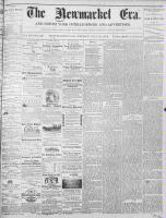 Newmarket Era (Newmarket, ON1861), July 12, 1872