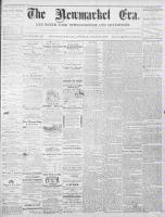 Newmarket Era (Newmarket, ON1861), July 19, 1872