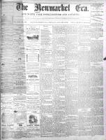 Newmarket Era (Newmarket, ON1861), August 23, 1872