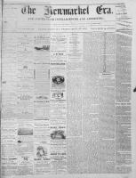 Newmarket Era (Newmarket, ON1861), September 27, 1872