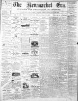 Newmarket Era (Newmarket, ON1861), October 18, 1872