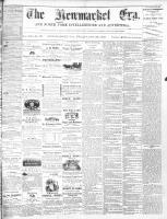 Newmarket Era (Newmarket, ON1861), October 25, 1872