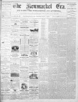 Newmarket Era (Newmarket, ON1861), November 1, 1872