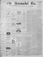 Newmarket Era (Newmarket, ON1861), November 22, 1872